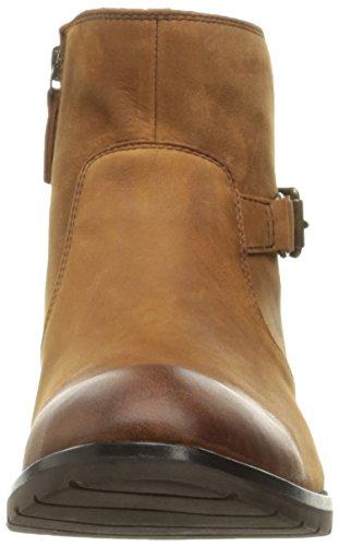 Sebago Womens Nashoba Low Waterproof Rain Boot Brown Leather Wp