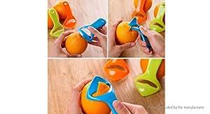 Plastic Orange Peeler Fruit Skin Remover - Orange