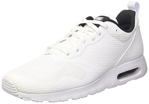 Tops Nike High Laufschuhe (Nike Herren Air Max Tavas Sneaker, Weiß (Blanc/Noir), 45.5 EU)
