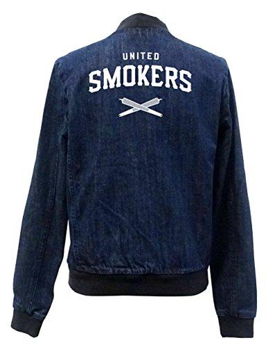 United Smokers Club Jeans Bomberjacke Girls Certified Freak-M