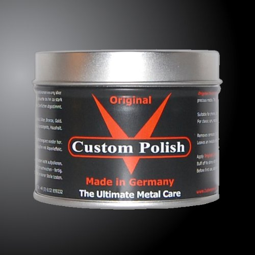 Custom Polish Original 400g cromo abrillantador cromo aluminio acero inoxidable abrillantador