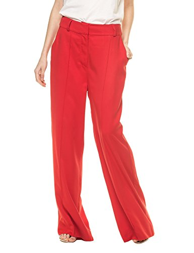 dr-denim-jeansmakers-womens-kylie-womens-red-trousers-in-size-m-red