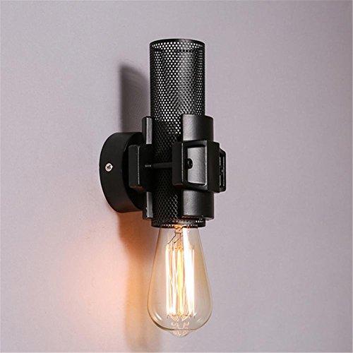XCJ Wandleuchte Sconce Lamp Loft Industrial Vintage Nachttischlampe und mit E27 Sockel Retro Reading Metall Net Wandleuchten für Wohnzimmer Schlafzimmer Flur Beleuchtung Fixtures