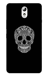 Back Cover for Lenovo Vibe P1 Designer Skull