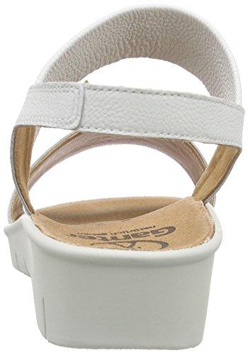 Ganter Damen Florence-f Offene Sandalen Weiß (weiß 0200)
