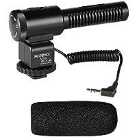 BESCHOI - Micrófono Direccional para Cámara DSLR