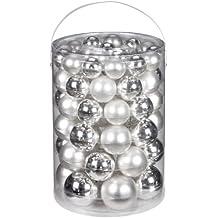 Christbaumkugeln Silber Matt.Suchergebnis Auf Amazon De Für Christbaumkugeln Silber Weiß