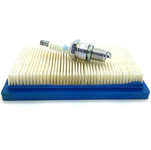 NGK Plug Kit de service et filtre à air pour Honda gxv140 Petit moteur, compatible avec tondeuses HONDA hrb475, HRB535