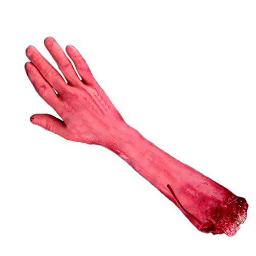 Liqiqi Blutige Hände Orgel Horror Requisiten – Halloween Horrible Streiche Spielzeug für Party Indoor Outdoor