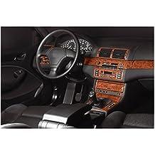 MERIC Decoración de Salpicadero (CD-CA00025) Versión 3D exclusiva, específicamente para el vehículo, 25 Pieza, Color: Carbono