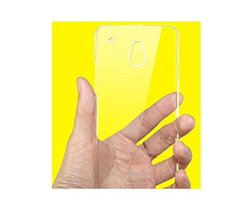 Higar HTC ONE DUAL SIM 802W IMAK Crystal Transparent Case Cover - Transparent