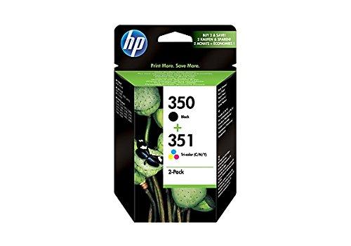 HP SD412EE Tintenpatrone schwarz, blau, rosa, gelb (Hp C4385 Tinte)