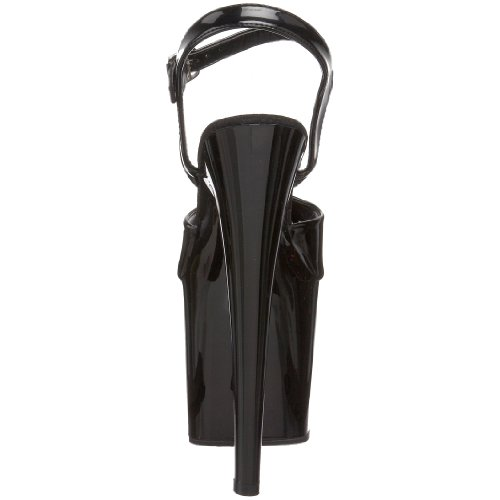 Pleaser Taboo 709, Des sandales femme Noir (Blk Pat/Blk)