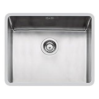 Foster Ke. 1V.50X 40. St–Sink Undermount Sink, Rectangular, Stainless Steel, Brushed Steel, Rectangular, 500x 400mm)