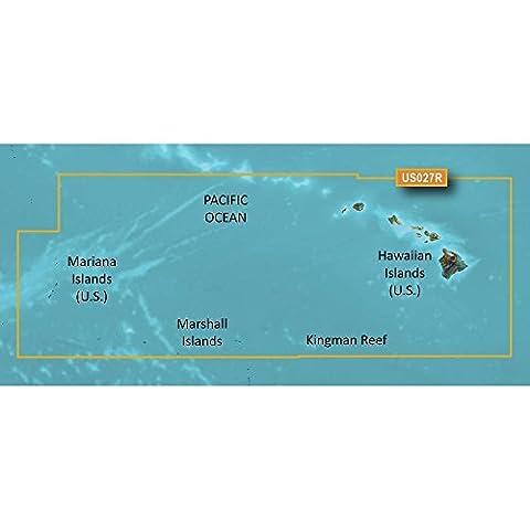 Garmin VUS027R Hawaiian Island Mariana Is Bluechart G2 Vision -Detailed Coverage