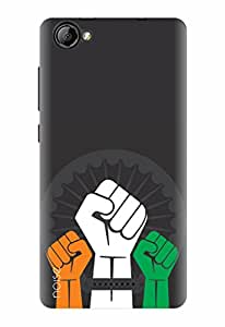 Noise Designer Printed Case / Cover for Lyf Wind 1 / Patterns & Ethnic / India Power Design