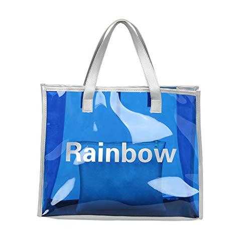 Mitlfuny handbemalte Ledertasche, Schultertasche, Geschenk, Handgefertigte Tasche,2 stück frauen regenbogen umhängetasche candy farbe wasserdichte umhängetasche griff tasche -