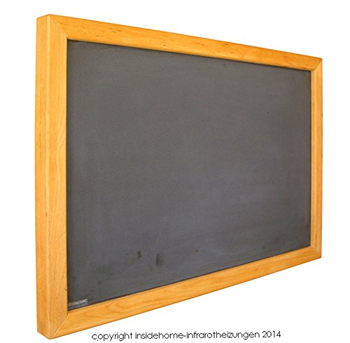 Infrarotheizung Tafel mit Holzrahmen aus Buche, 210 Watt - 60x40x2,5 cm