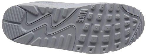Nike Air Max 90 Essential, Herren Sneakers, Weiß (White/white-white-white), 43 EU (8.5 Herren UK) -