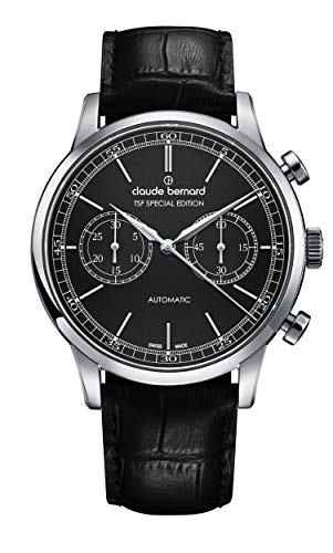 Claude Bernard by Edox Men's Watch 08001.3.NIN TSF Automatics Chronograph Swiss