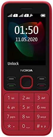 "Nokia 150 (2020) Feature Phone, Dual SIM, 2.4""Display, Camera, expandable MicroSD up to 32GB"