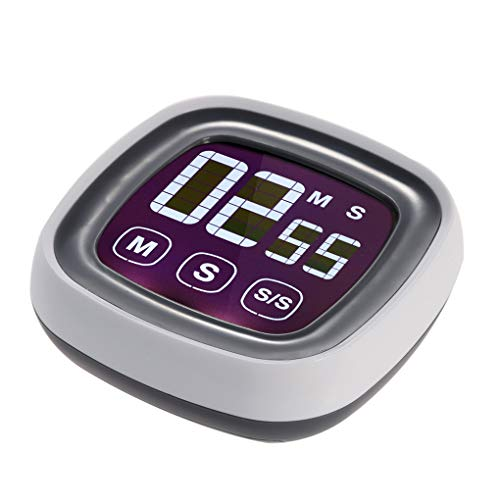ble Touch-Screen-Digital-Küche Kochen Timer-LED-Hintergrundbeleuchtung Touch-Timer Count up ()