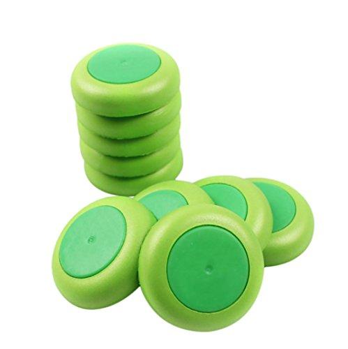 Omiky® 50 Stück Refill Discs Kugel Für Nerf Vortex Blaster Praxis Nitron Vigilon Proton (grün) (Nerf Disc)
