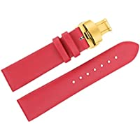 18mm Ladies 'Dress Watch Band Replacements Red