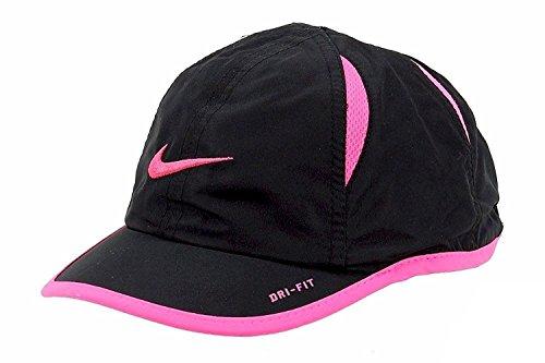 Kleinkind Mädchen Swoosh Nike DRI-FIT-Verstellbare Hat 4/6 X Schwarz/Rosa