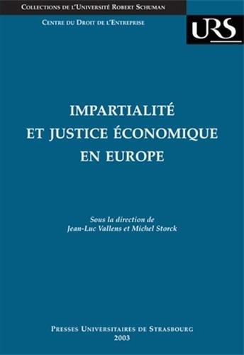 Impartialit et justice conomique en Europe