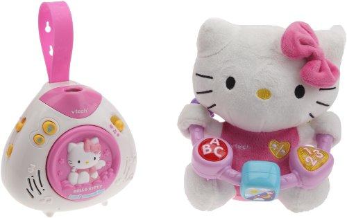 Vtech - 205205 - Eveil - Coffret Naissance Hello Kitty - Lumi Merveilles + Peluche