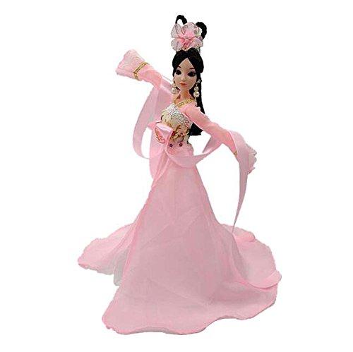 tüm Göttin Palace Konkubine Menschen Puppen Dressup-Pink (Alte Menschen Kostüme Für Kleinkinder)