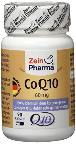 ZeinPharma Coenzym Q 10, 60 mg, 90 Kapseln, 1er Pack (1 x 18 g)