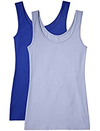 Marchio Amazon - Iris & Lilly - Belk023_m2, Tank Top Donna