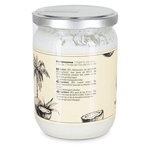 Bio Kokosmus Zuckerfrei ● Natürliches Cremiges Kokosmus Aus Kontrolliert Biologischem Anbau ● 450 g ● KoRo - 3