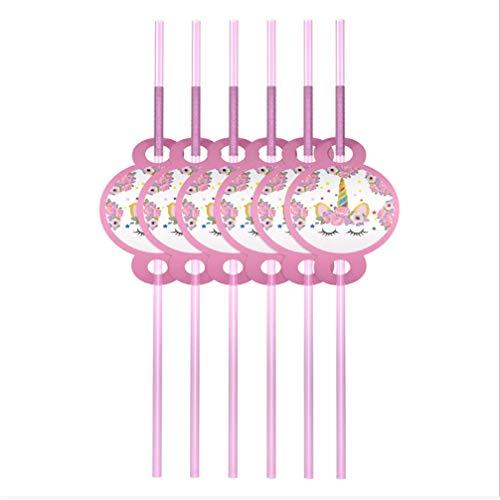 Decorazione Cupcake con Nastro di Paglia per la Festa di Compleanno Baby Shower Decorazione del Partito 5 Pollici 5pcs YEZIDE Cake Topper con Palloncini di Coriandoli in Oro Rosa