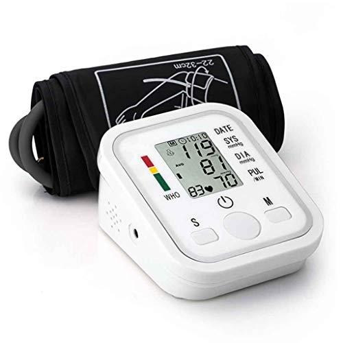 XUEYAYI Misuratore di Pressione sanguigna da Braccio, con precisione Digitale, Schermo LCD, Polsino Largo, Adatto per Uso Domestico e Professionale