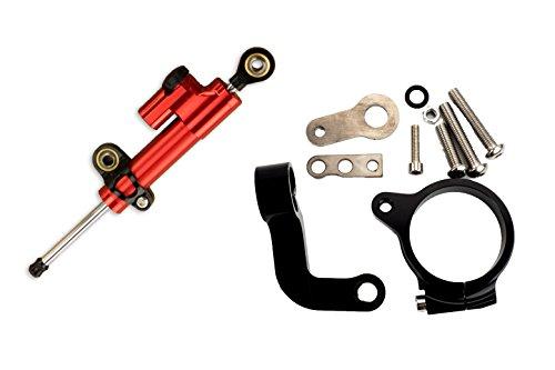 Preisvergleich Produktbild Lenkungsdämpfer mit Anbaukit BMW R1200GS LC 2013-2017 rot