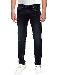 Raa Jeans Men's Slim Fit Jeans Raa016 Black
