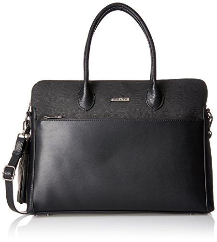 Bulaggi - Sallinger Laptop Bag, cartella Donna Nero (Schwarz)