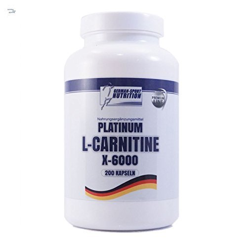 L-Carnitin Kapseln - L-Carnitine X-6000 extrem hochdosiert 200 Caps Carnitin Diät Definitionsphase
