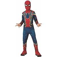 Rubies - Disfraz Spiderman Iron Spider para niño, Infinity War, 5-6 años (Rubie´S 641052-M)