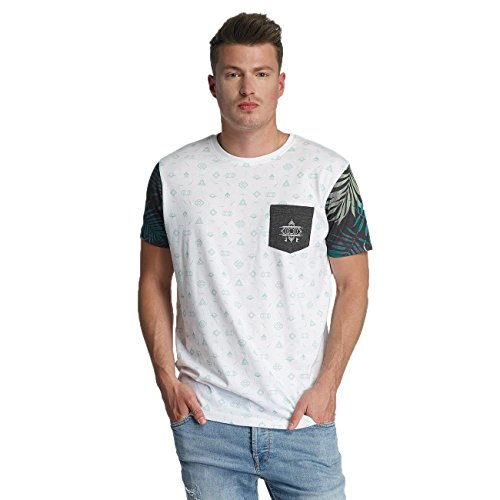 Just Rhyse Uomo Maglieria/T-Shirt Lake Davi's Bianco