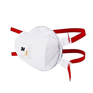 3M Disposable Respirator, FFP3, Valved, 8835+, EN safety certified