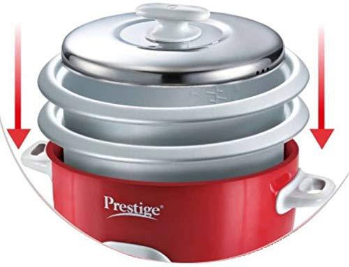 35bd0e83edb 23% OFF on Prestige PRWCS 2.8 1000-Watt Delight Electric Rice Cooker (White)  on Amazon