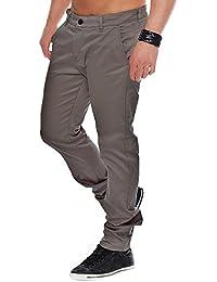 Rerock Herren Chino Hose Benny Pant 35-3331 Slim Fit