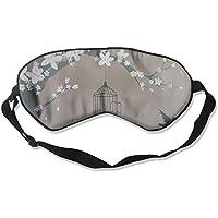 Sleep Eye Mask Cherry Tree Bird Lightweight Soft Blindfold Adjustable Head Strap Eyeshade Travel Eyepatch E8 preisvergleich bei billige-tabletten.eu