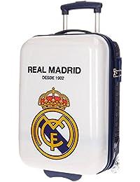 Real Madrid Hala Kindergepäck, 50 cm, 26 liters, Weiß (Blanco)