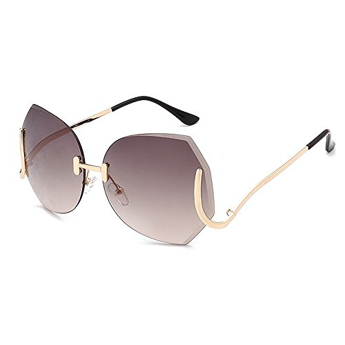 KOMEISHO Novelty Designer Shades Irregular Special Leg One-Piece Style UV Protection Sunglasses For Women Outdoor Driving Travelling Fashion Accessories