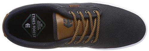 Etnies Herren Jameson 2 Eco Skateboardschuhe Blau (467-navy / Tan / Bianco)